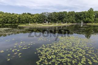 Barockgarten, Wasserburg Anholt, Parkhotel, Wasserschloss, Isselburg, NRW