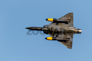 Aircraft Mirage 2000 of the Couteau Delta Tactical Display