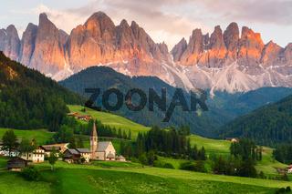Santa Maddalena village, Italy