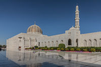 Sultan Qabus Moschee, Maskat, Oman