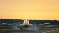 Aircraft landing photo