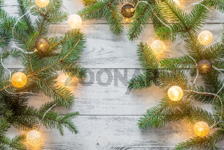 Christmas tree branches