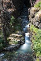 Sunrift Gorge in Glacier National Park Montana