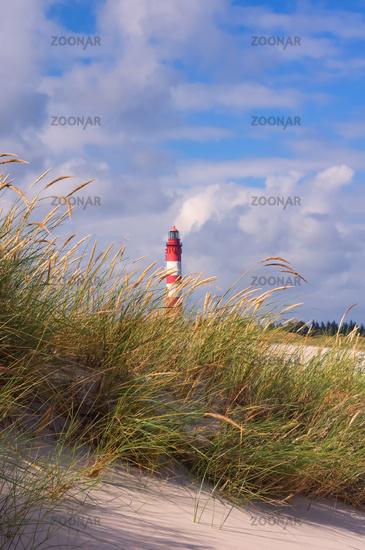 Sommerimpression Amrumer Leuchtturm