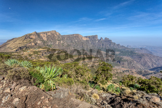 Semien or Simien Mountains, Ethiopia