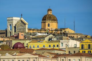 Santa Maria Cathedral Castello, Cagliari, Sardinia, Italy