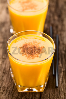 Fresh Pumpkin Smoothie