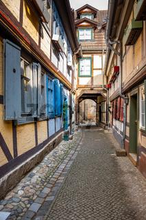 historische Altstadt von Quedlinburg Harz