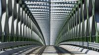 Brückenansichten in Bratislava