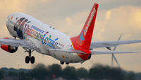 Corendon Boeing 737 departure