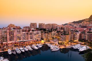 Port of Monaco. Seascape.