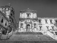 NOTO, ITALY - San Francesco D'Assisi church