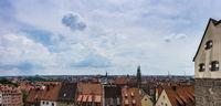 Panorama über den Dächern Nürnbergs
