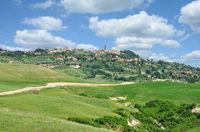 Volterra in der Toskana,Italien