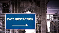 Street Sign DATA PROTECTION