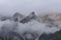 Pragser Dolomiten im Herbst