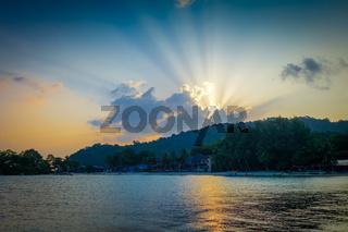 Sunset on Perhentian Islands, Terengganu, Malaysia