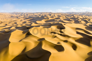 beautiful desert landscape at dusk