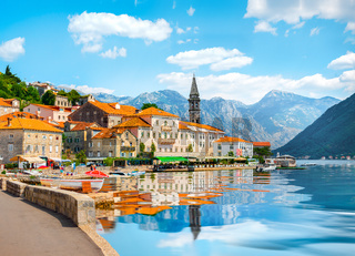 Perast at Bay of Kotor
