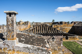 San Miguael fort in Rocha province, Uruguay