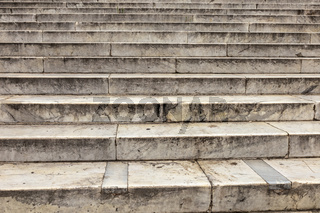 close up of a marble staircase