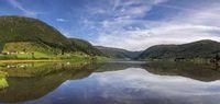 View over lake Dalavatnet