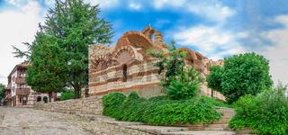 Church of St John Aliturgetos in Nessebar, Bulgaria