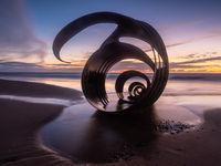 Mary's Shell at Cleveleys Beach