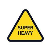 Sign of super heavy element. Industial sign. Attention element.