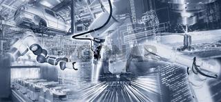 Industrie und Automation