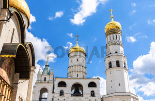 Domes of Ivan the Great Bell Tower and Assumption Belfry