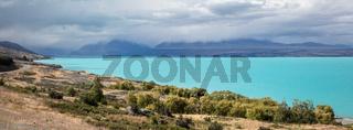 day at Lake Pukaki New Zealand