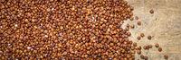 gluten free red quinoa grain