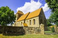 Dorfkirche Heckelberg, Brandenburg, Deutschland
