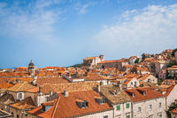 Panoramic view of Dubrovnik Old Town