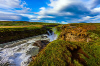 The Golden Waterfall Gullfoss