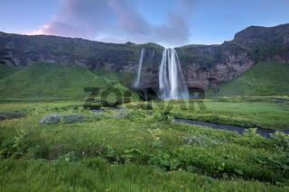Wasserfall Seljalandsfoss