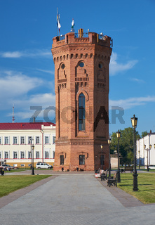 Water tower. Tobolsk Kremlin. Tobolsk. Tyumen Oblast. Russia