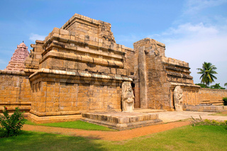 Entrance, Brihadisvara Temple, Gangaikondacholapuram, Tamil Nadu, India