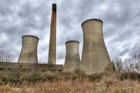 Richborough power station near Sandwich in Kent