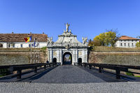 Stadttor zur Festung Alba Iulia mit Horea, Closca und Crisan Obelisk