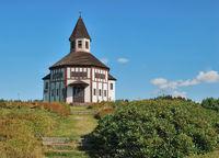 Kapelle von Tesarov im Isergebirge,Tschechische Republik