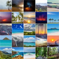 Hawaii view collage