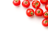 Tasty red tomatoes.