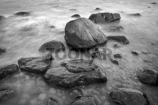 Steine am Strand von Lohme