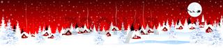 Little village on Christmas Eve 1