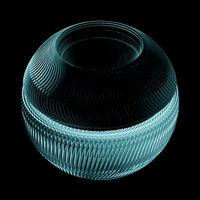 Fituristic Exhauster Or Turbine. Sci-Fi Element For Spaceship Isolated On Black Background