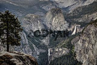 Yosemite Waterfall View