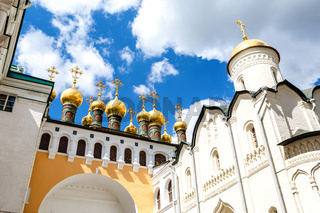Cathedral of the Savior of the Holy Face (Verkhospassky) in Moscow Kremlin