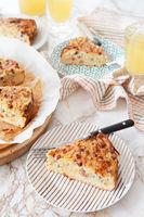 Hausgemachter Zwiebelkuchen